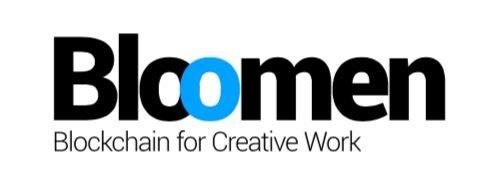 Bloomen Blockchain for Creative Work Logo