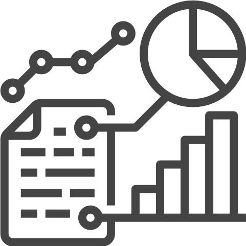 Icon of different graphs