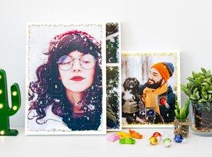 Foto-Adventskalender mit Schokolade