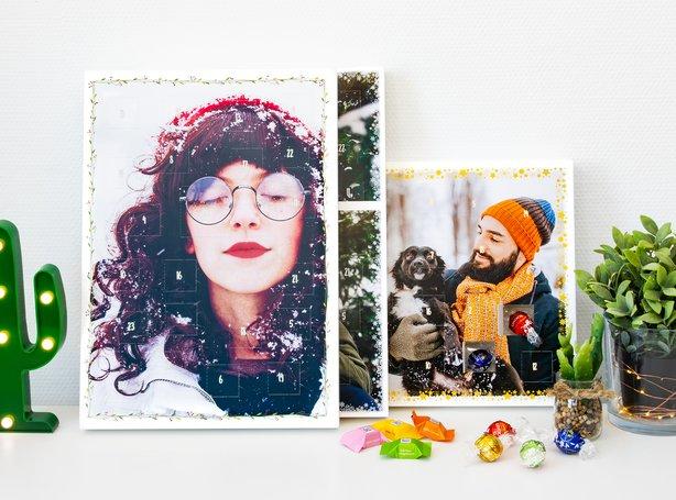 Foto-Adventskalender Ruck Zuck mit Schokolade