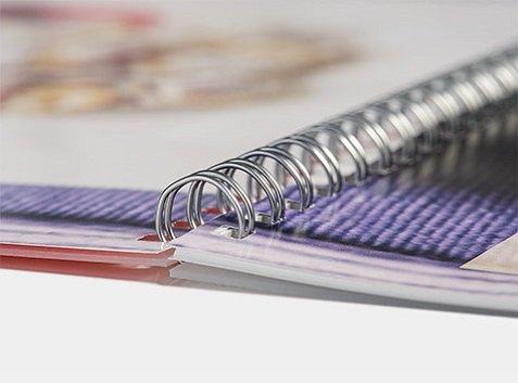 Fotobuch mit Spiralbindung