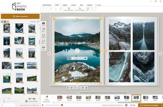 Fotoboek software windows mac myphotobook