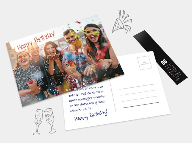 Zum Postkartenkalender