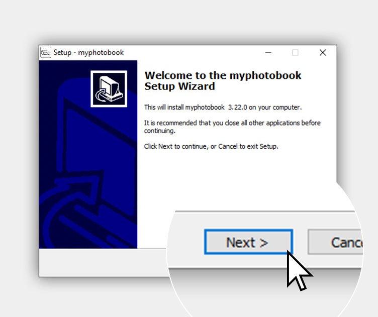 myphotobook Windows software