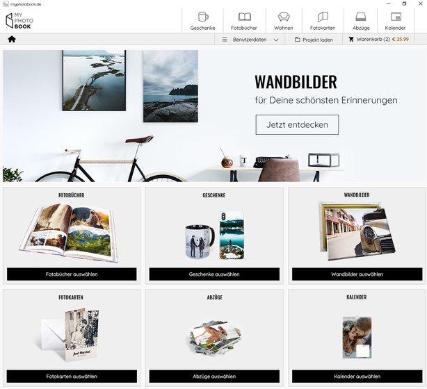 Fotobuch Software Windows Mac myphotobook