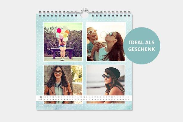 Kalender mit eigenen Instagram Fotos