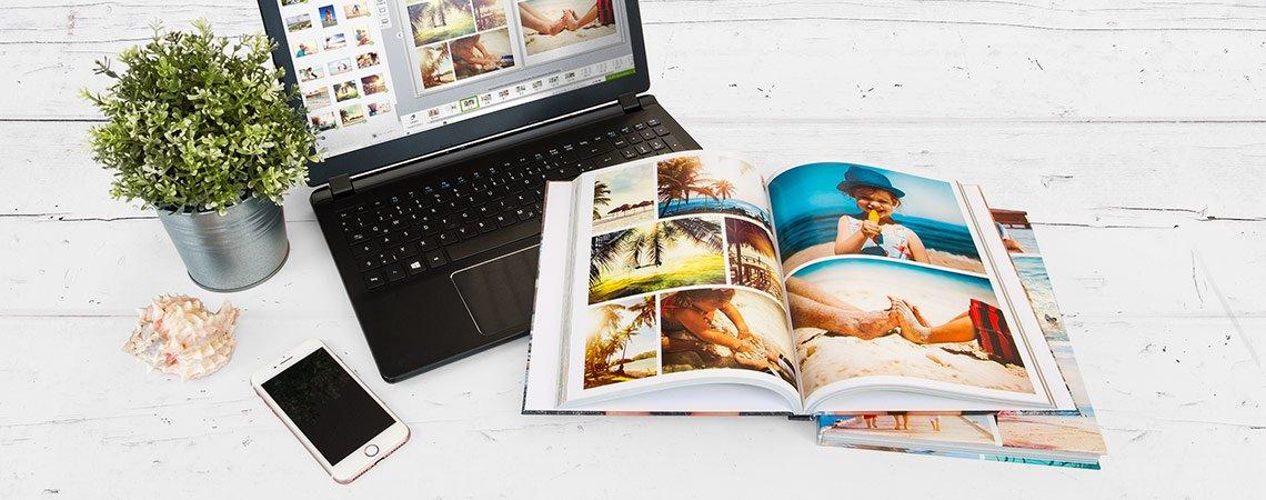 Fotoalbum online gestalten