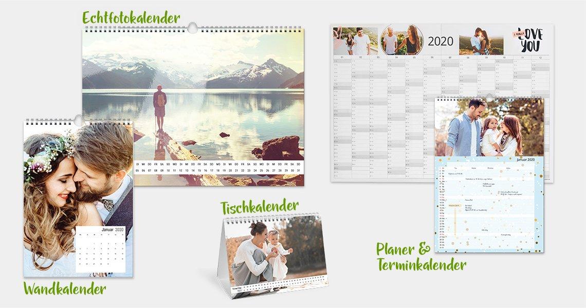 Persönliche Kalender gestalten