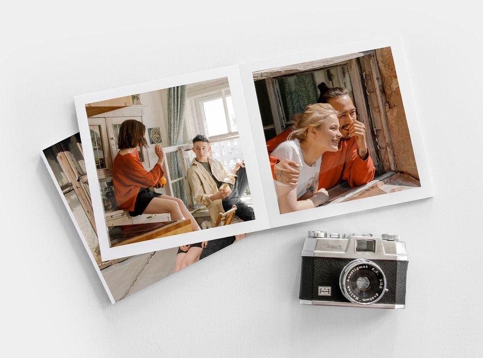 libro su carta fotografica creato con myphotobook