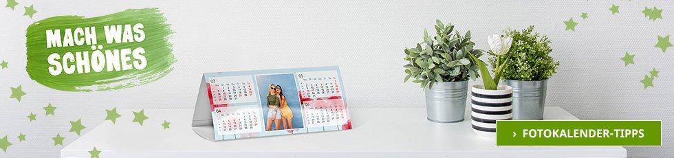 Fotokalender Tipps