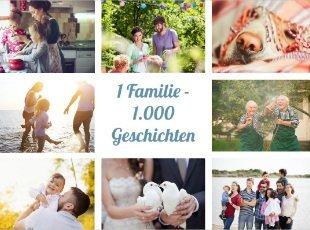 Unsere Fotobücher sind für alle in der der Familie geeignet.