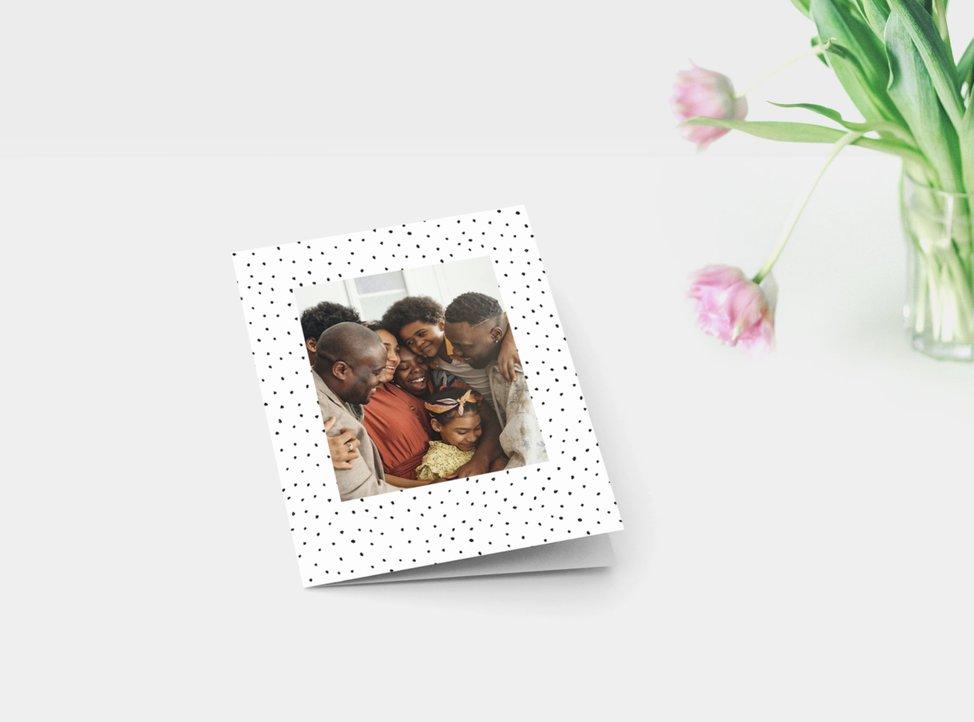 biglietto pieghevole personalizzato di myphotobook