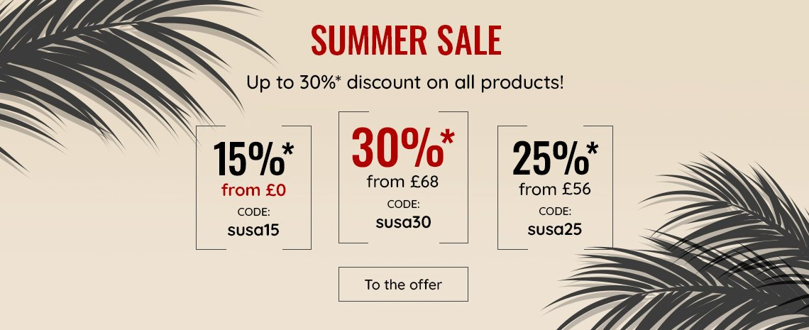 30% discount on everything
