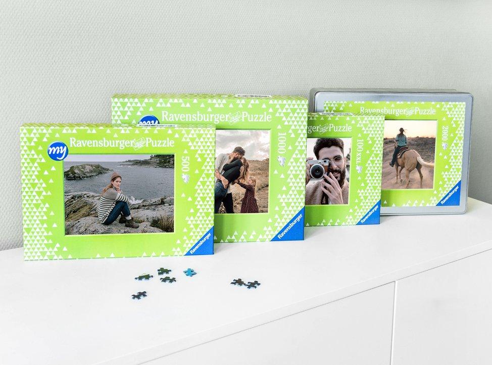 puzzle personalizzati con foto in diversi formati disponibili su myphotobook