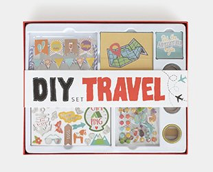 Scrapbooking Dekobox Travel