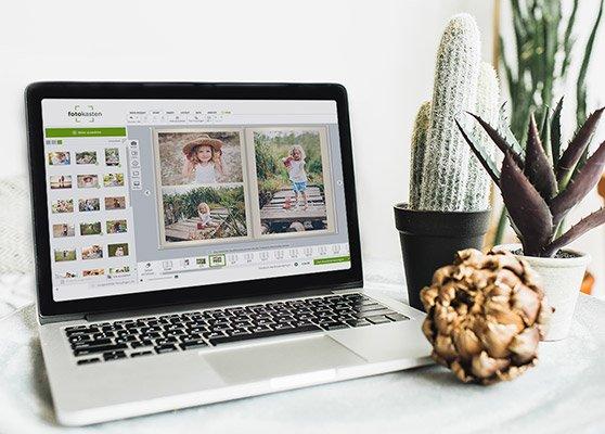 Fotoprodukt online gestalten