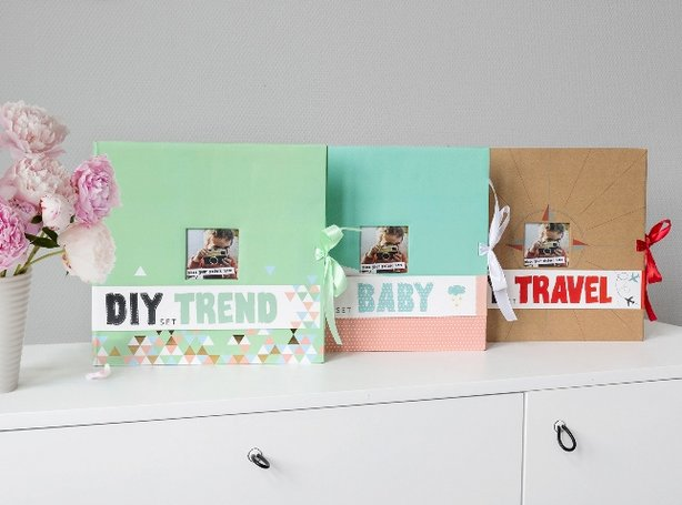 Kits scrapbooking & accessoires