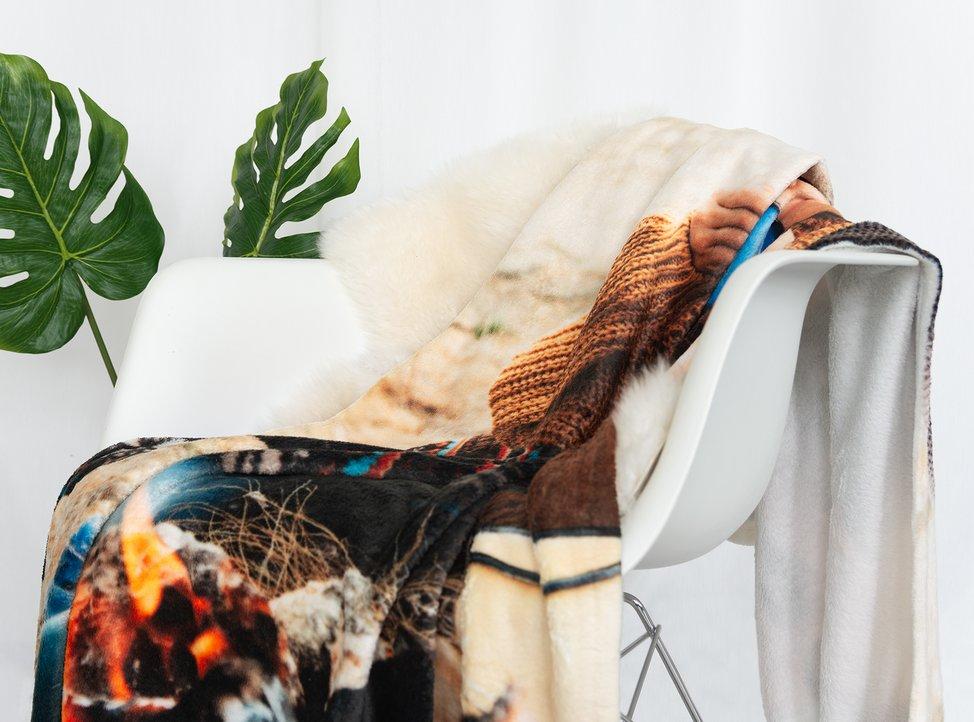coperta personalizzata con foto