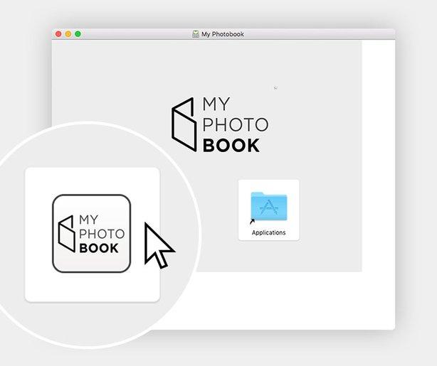 myphotobook programvaran Mac
