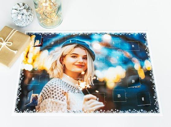 Foto-Adventskalender ohne Schokolade