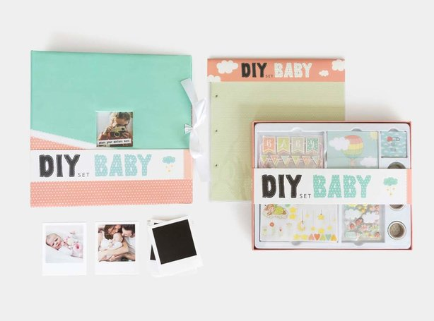 Scrapbook Set DIY Baby