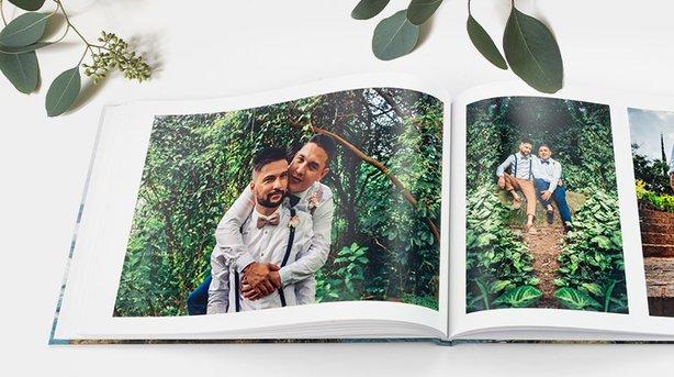 Fotobücher gestalten