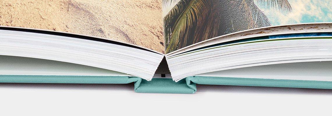 Echtfotobuch Leporello Bindung