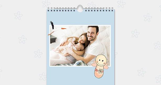 Babykalender selbst gestalten
