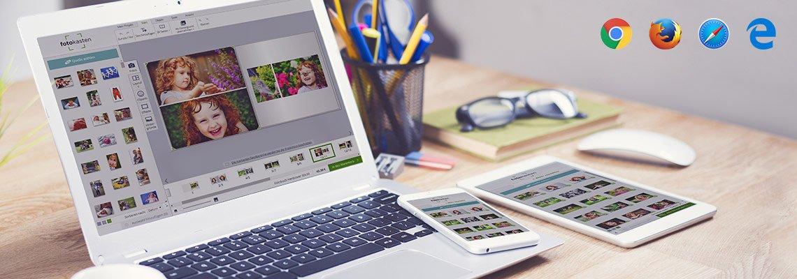 Online Designer von fotokasten