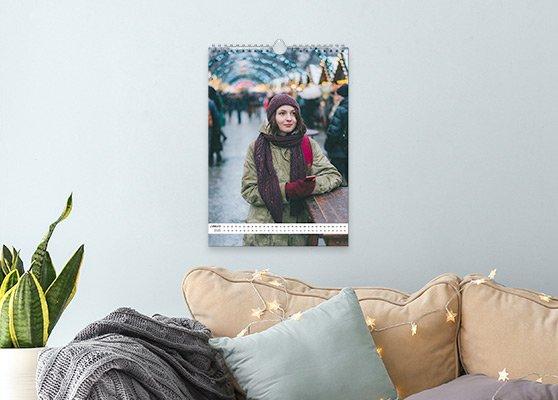 Wandkalender als Weihnachtsgeschenk gestalten