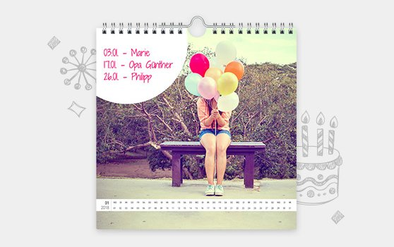 Zu den Wandkalendern