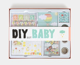 Scrapbooking Dekobox Baby