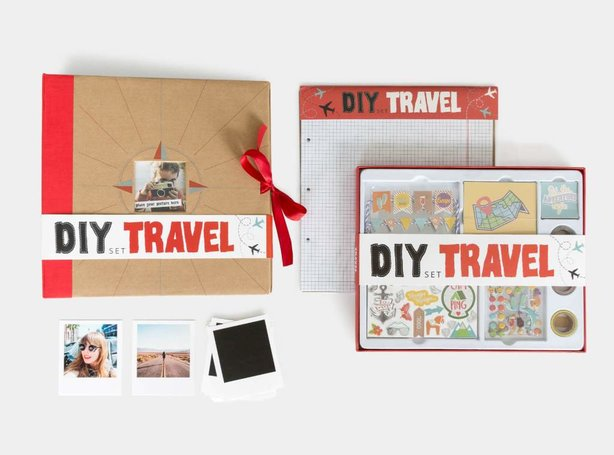 Scrapbook Set DIY Travel
