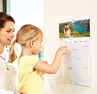 Familienkalender selbst gestalten