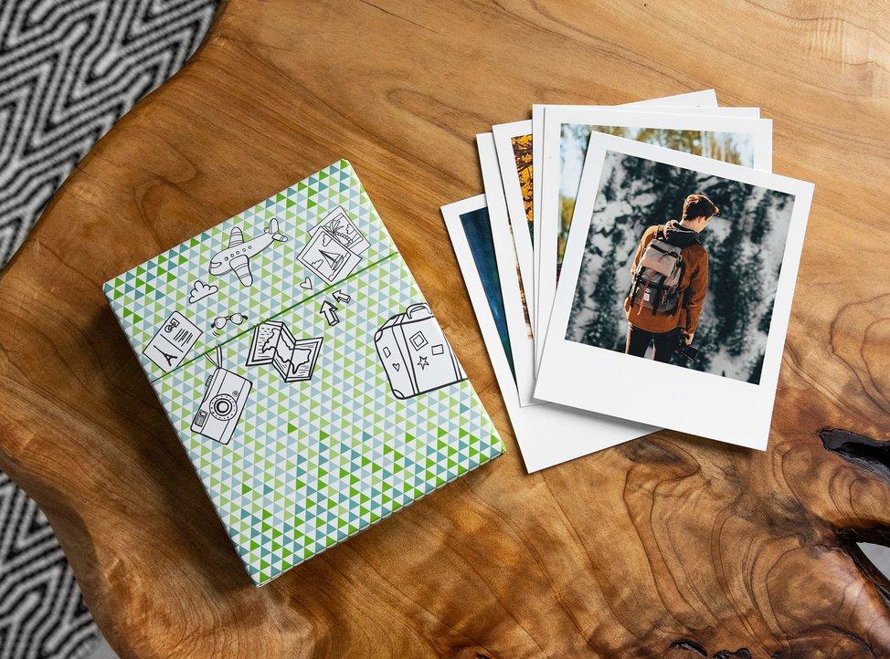 foto in formato vintage di myphotobook con cofanetto