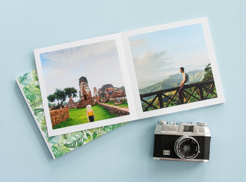 libro su carta fotografica personalizzato con copertina morbida formato 20x20