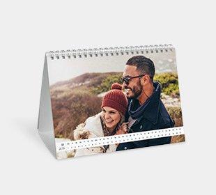 Tischkalender A5 quer gestalten