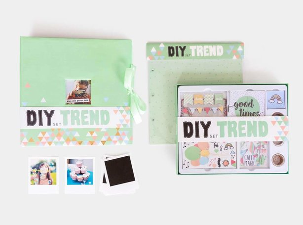 Scrapbook Set DIY Trend