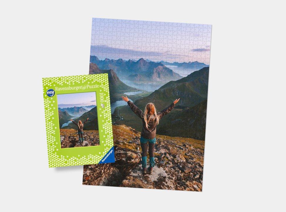 puzzle da 1000 pezzi con foto personalizzata creato con myphotobook
