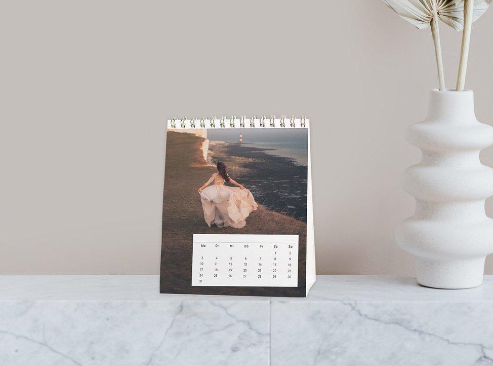 calendario da scrivania personalizzato