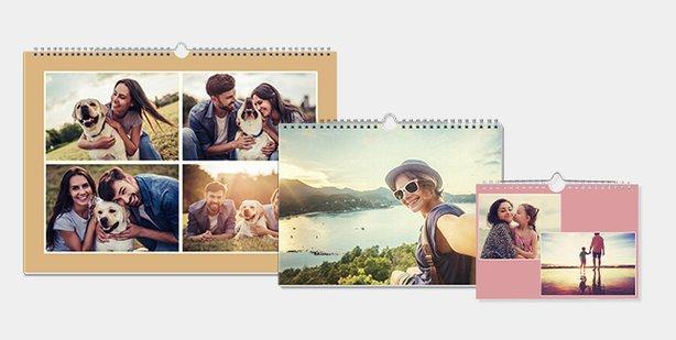 Quadratische Fotokalender