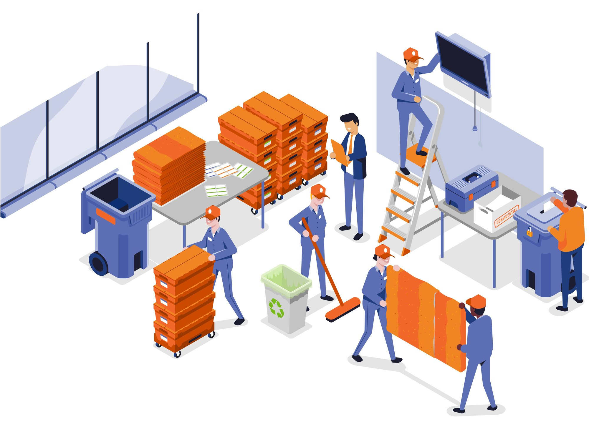 Commercial Movers in Office