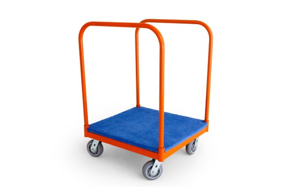 carpeted panel           cart