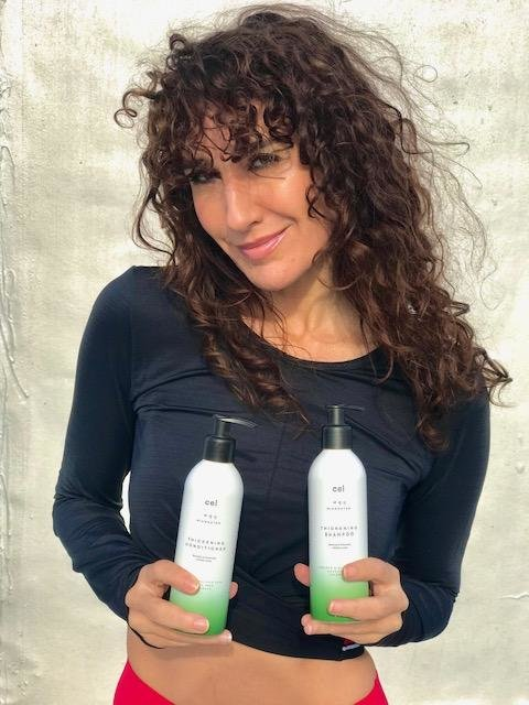 """""""I love it! Been using Cel over 2 years now! Cannot tell how many times I have given this to people to try! My hair was fine and thin. Still is but feels so much thicker and just fun and shiny, will never go without it!"""""""