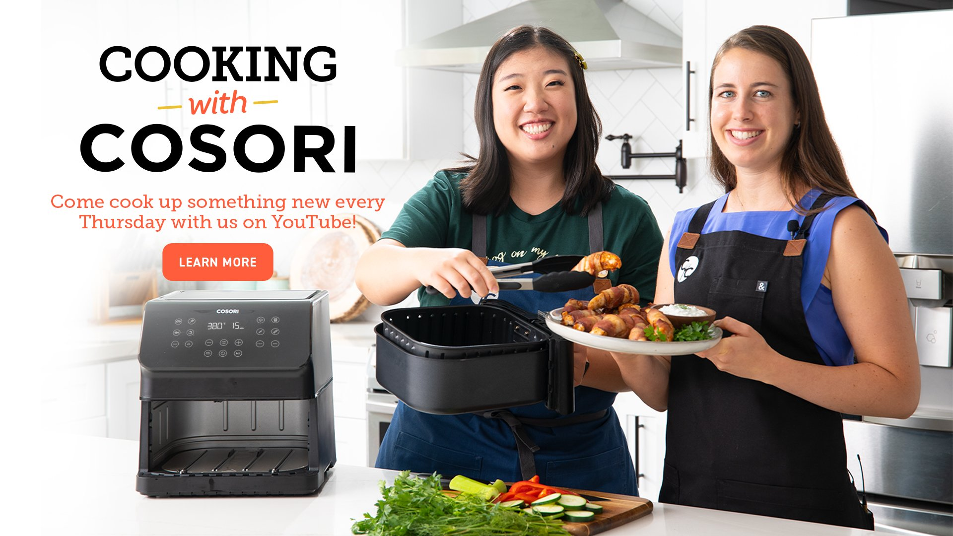 Cooking with Cosori Video Series
