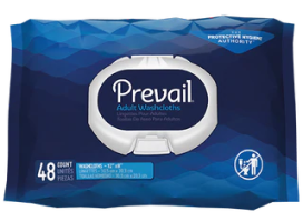 Prevail Cleansing Wipes