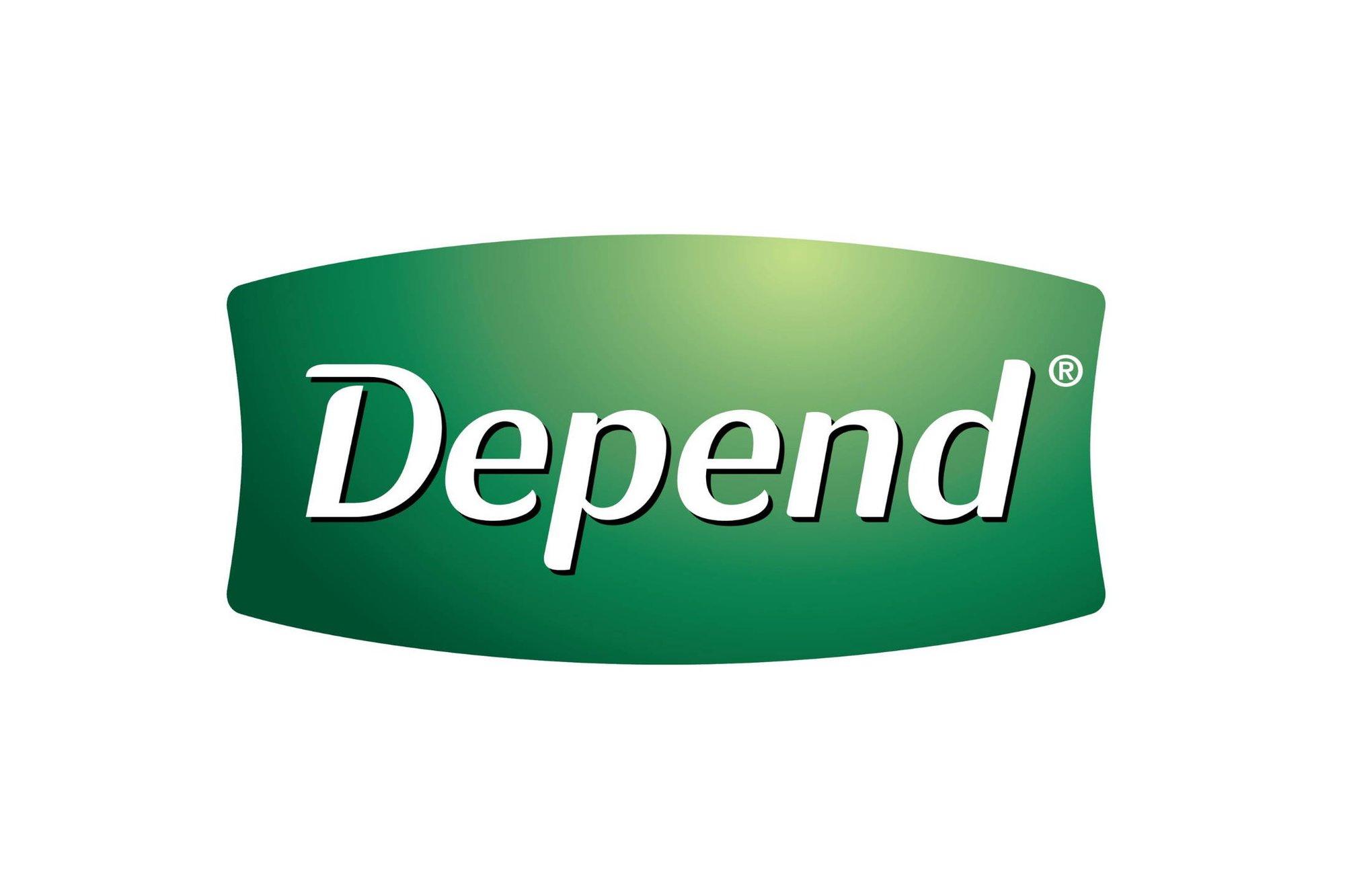 Depends Logo