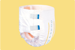 Adult Diaper with Tabs