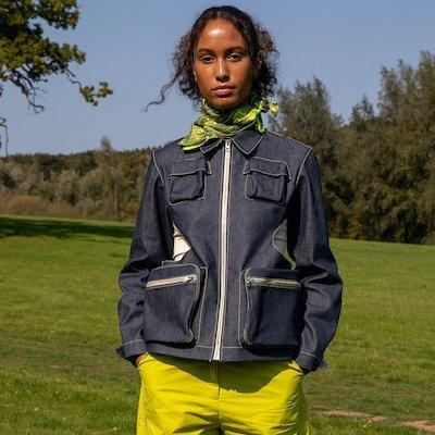 London Fashion Week model