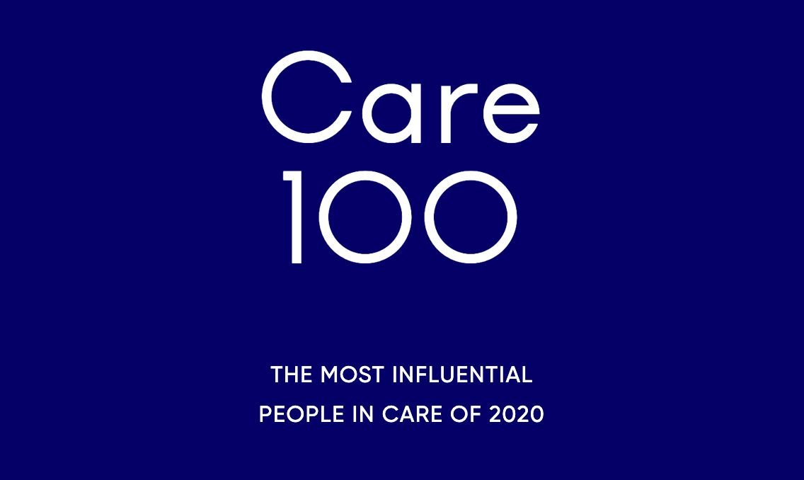 Care 100 - The most influential people in care of 2020